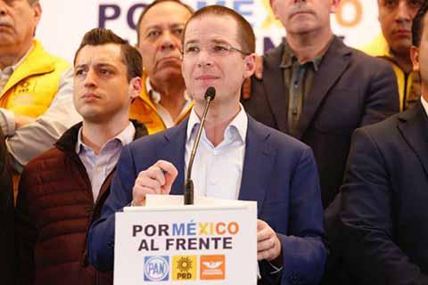 Anaya Advierte Meter a la Cárcel a Peña Nieto