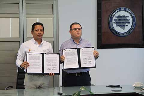 Firman Convenio de Colaboración Para Custodiar Material Electoral