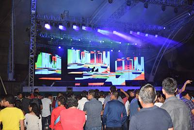En el Foro Masivo se presentó el Madness Events, con la participación de varios DJ´s locales.