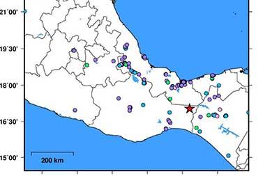 Sismos Mayores de 4 Grados Richter Sacuden Oaxaca