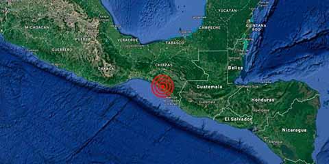 Temblor de 5.2 Grados Sacude el Istmo y el Centro del Estado