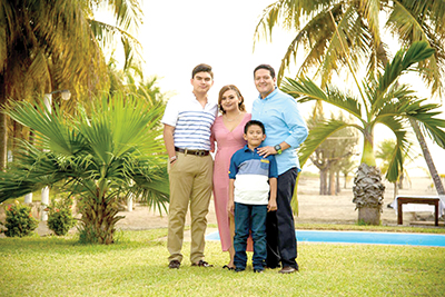 Familia Zamora Pacheco.