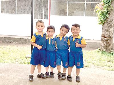 Jesús Araújo, Juan Oyervides, Víctor López, Darwin Chagala