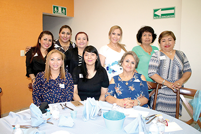 Maylin Citalán, Mónica Oyercides, Mary Joo, Celia Sánchez, Teresa Cal y Mayor, Maribel Avendaño, Beatriz Barajas, María Luisa Roblero, Isela García.