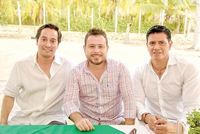 Norberto de Gyves, Mauricio Capri, Luciano Ruiz