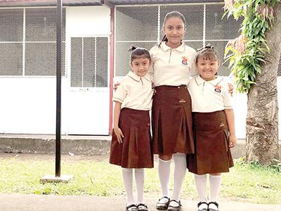 Karen López, María Fernanda Gómez, Abigail Godínez
