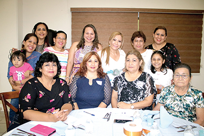 Rosario López, Laura Cañaveral, Mariana Zetina, Amanda López, Candy Reyna, Lesvia Cigarroa, Heidi Reyero, Carolina Fierro, Sofía Fierro, Damaris Fierro y Vanellope García.
