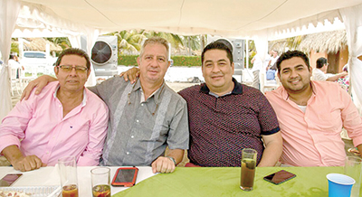Javier flores, Luis Guizar,Emmanuel Manzo, Miguel Herrera.