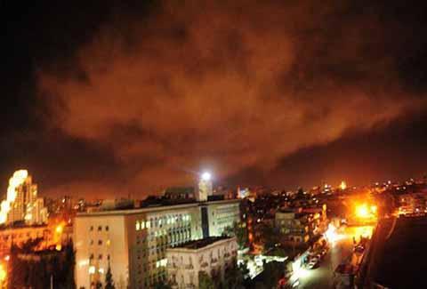 Los primeros misiles fueron enviados a puntos estratégicos en Damasco.
