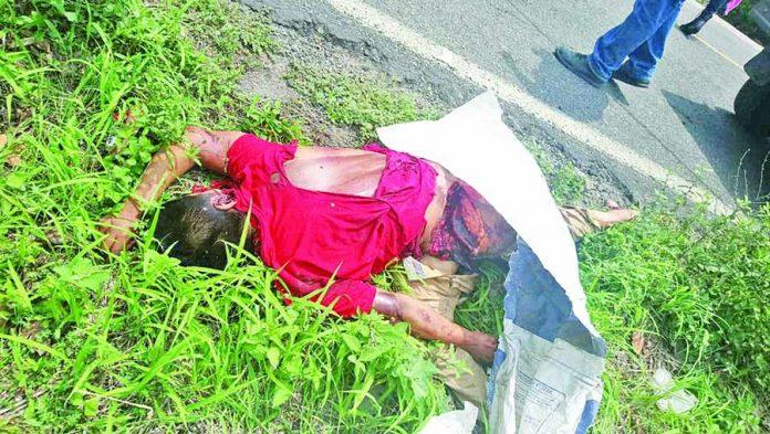 Motociclista Muere Atropellado en la Carretera