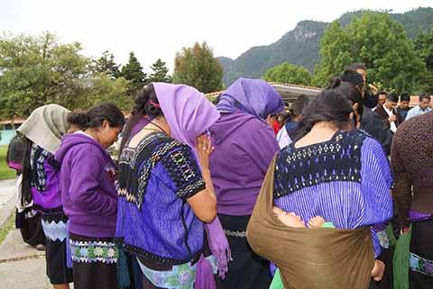 Concluye Plantón de Familias del Ejido Puebla de Chenalhó