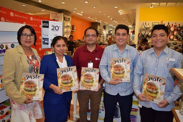 María Chong, Cielo Pérez, Daniel Trujillo, Daniel García, Cristóbal Rodríguez.