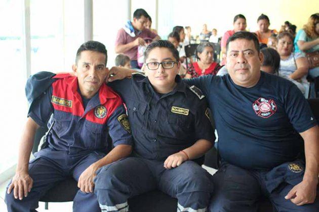 Roberto Carrillo, Andrés Luna, Humberto Ralón.