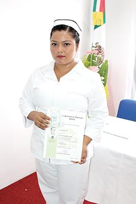 Selene Osorio.