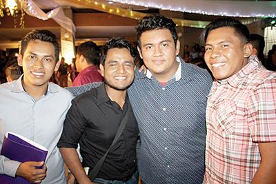 Maynor Alexander, Javier Juan, Moisés Méndez, Daivi González.