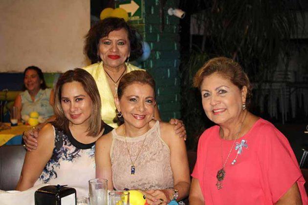 Yerenia Rosales, Edith Santiago, Olivia Cano, Daysi Trujillo.