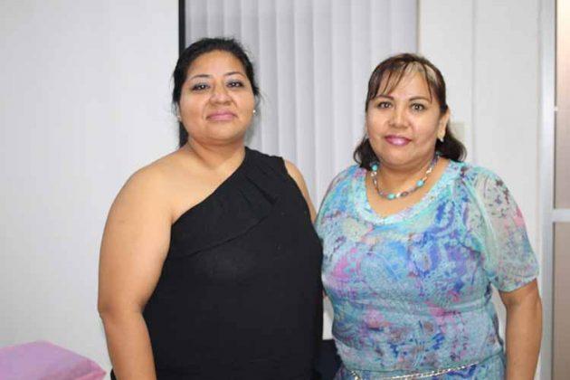 Marcia Ochoa, Alicia Gutiérrez.