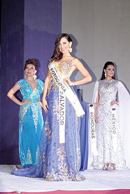 Andrea Jovel, El Salvador, Miss Fotogenia.