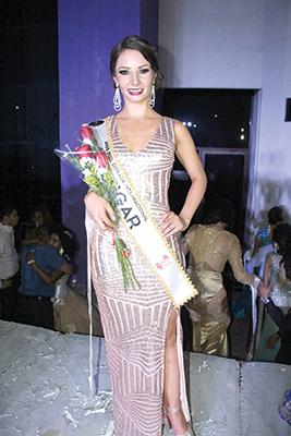 Andrea Caro. Colombia 4° Lugar.