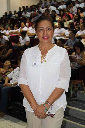 Mercedes Cárdenas, Delegada del Sistema de Educación continua para el Médico general y familiar y profesionales de la salud, Delegación Chiapas.
