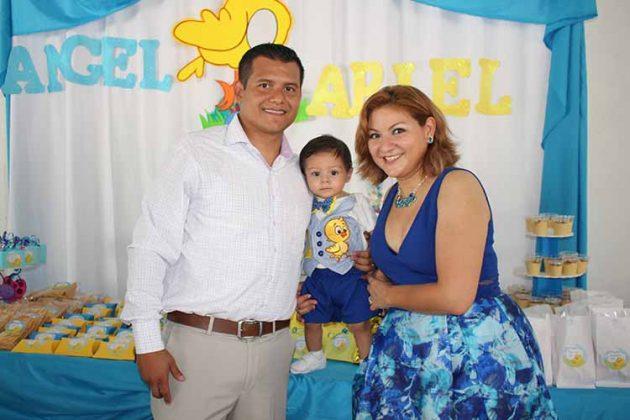 Ariel del Castillo, Ángel Ariel, Jesica Guerson.