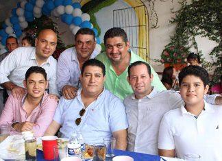Guillermo Alvarado, Emmanuel Nivón, Ricardo, Ricardo Soto, Jorge José, Guillermo Alvarado, Oscar Alvarado.