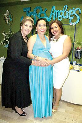 Emma Rodríguez, Nancy Calvo, María Eugenia Espinosa.