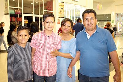 Familia Villatoro Díaz.