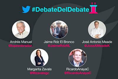 Hoy el Primer Debate de los Candidatos a la Presidencia