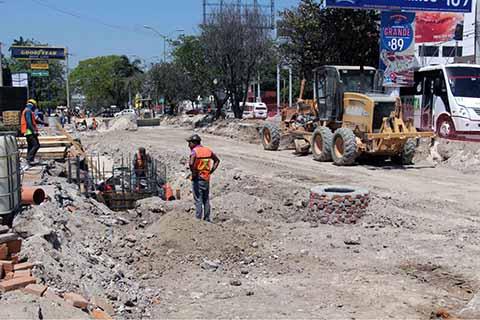 En Tiempo los Trabajos de Modernización del Boulevard Belisario Domínguez