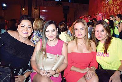 Gaby de Medina, Ingrid Carboney, Roxana D´Elia, Zussette Barrios.