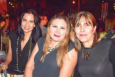 Verónica Elorza, Odette Henaine, Maricarmen González.