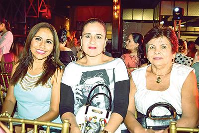 Ángeles Hernández, Anaely Aldrete, Eleonora Ordoñez.