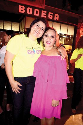 Evelyn Campos, Maggie Arenas.