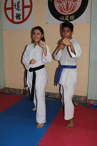 Karatecas se Preparan Para Nacional
