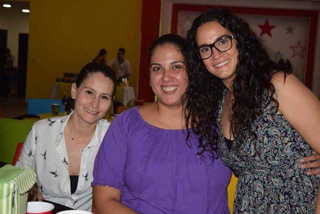 Andrea León, Lola Reyero, Rocío Marín.