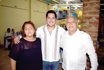 Teresa Argueta, Marco Antonio, Marco Antonio Barragán.