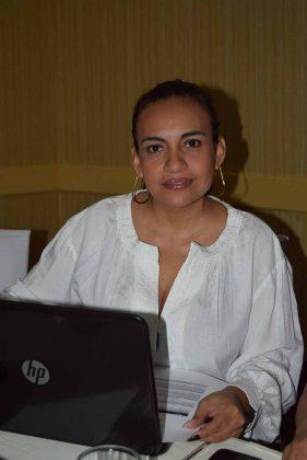 Olga María López Ovando, representante del Ministerio de Economía e integrante del Comité Organizador del IV Festival Gastronómico Guatemágica-Retalhuleu 2018.