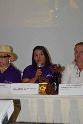 Carmen María Fuentes, propietaria Cafetería Donde Carmen y representante de la Mesa Local de Turismo Guatemágica.