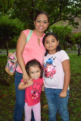 Lupita, Stephanie, Michelle Nagaya.