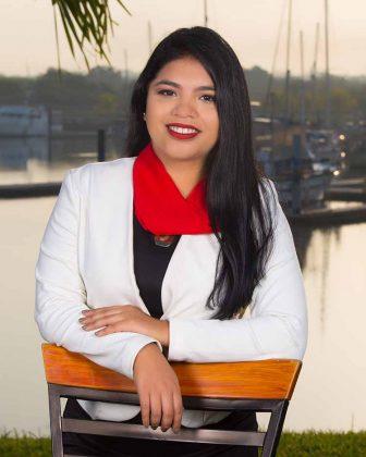 Guadalupe Martínez, Licenciada en Administración de Empresas.