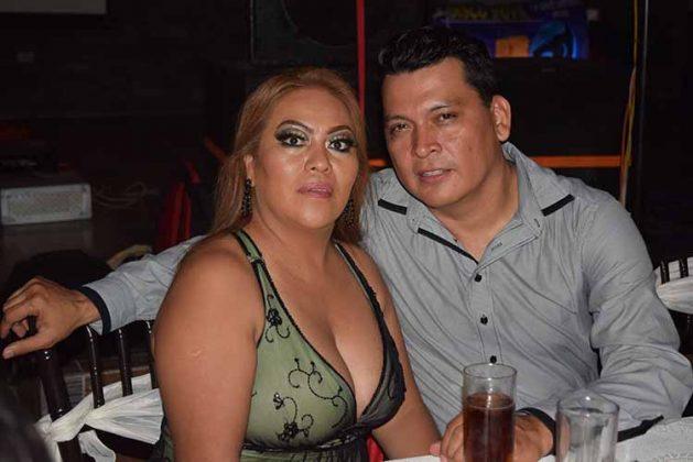 Norma Alvarado, Gerardo Becerra.