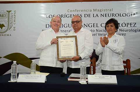 Extiende UNACH Vínculos de Cooperación con Instituto Nacional de Neurología y Neurocirugía