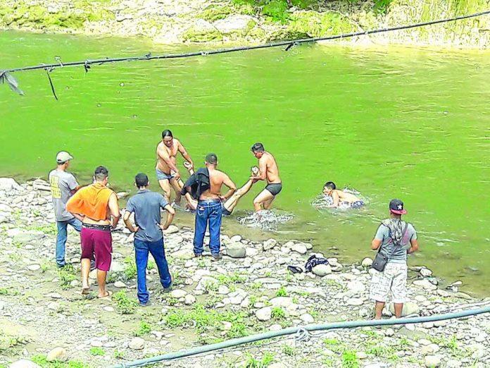 Murió Ahogado en el río Cahoacán