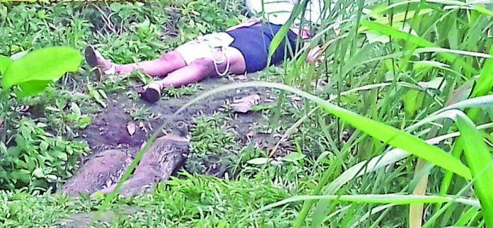 Asesinan a Mujer de dos Balazos