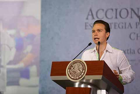 Se Suma Manuel Velasco al Llamado de Unidad Nacional