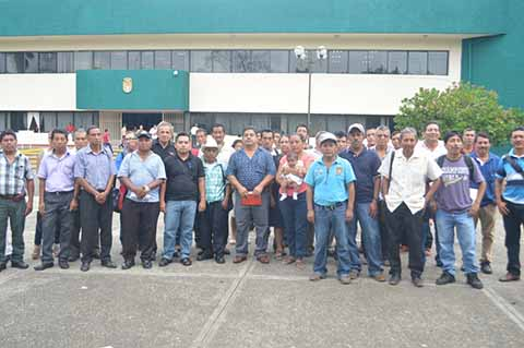 Rehabilitarán 18 Caminos en la Zona Alta de Tapachula