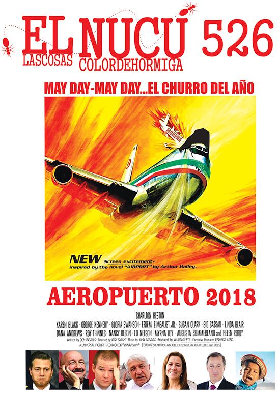 MAY DAY... MAY DAY.... EL CHURRO DEL AÑO