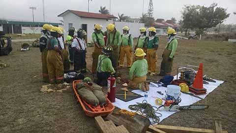 Realizan Curso Para Atención a Emergencias