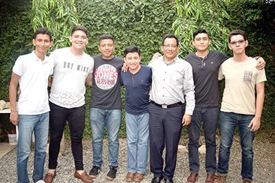 Octavio Romero, Esteban Daniel, Manuel Cruz, Ernesto Simón, René Simón, Orlando Simón, Diego Pedrero.